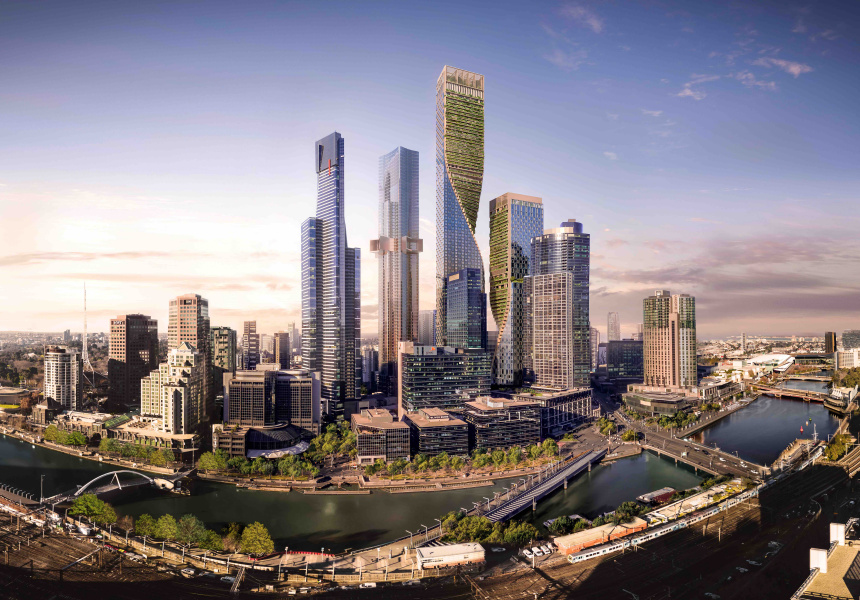A render of Southbank by Beulah
