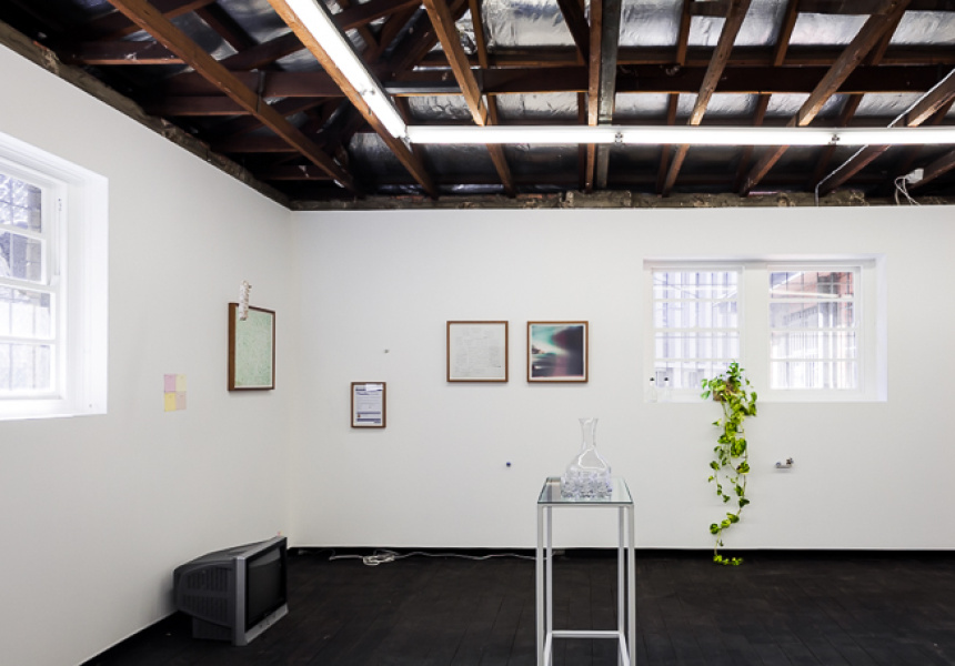 Life is Hard (installation view), Curated by Todd McMillan & Natalya Hughes