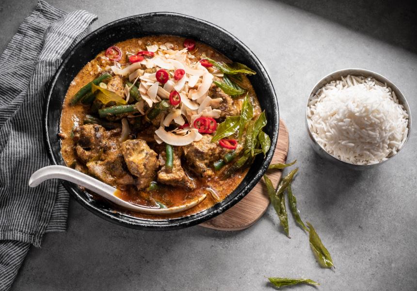 Recipe Sri Lankan Style Lamb Curry With Basmati Rice