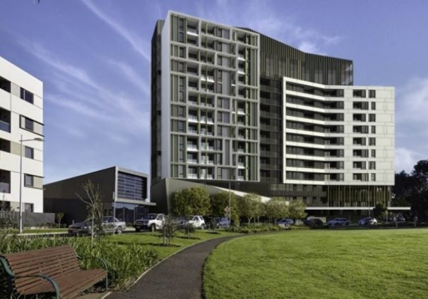 New plans for high rise apartment towers on royal park for Apartment plans melbourne