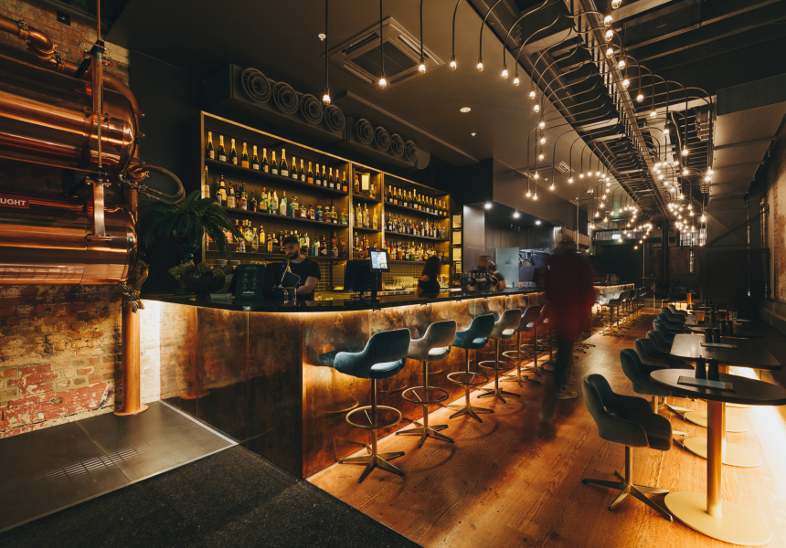 diesel bar and eatery opens on little lonsdale street. Black Bedroom Furniture Sets. Home Design Ideas