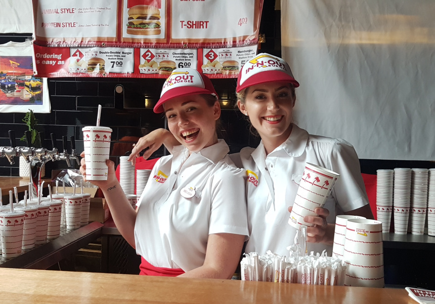 In-N-Out in Perth earlier this year
