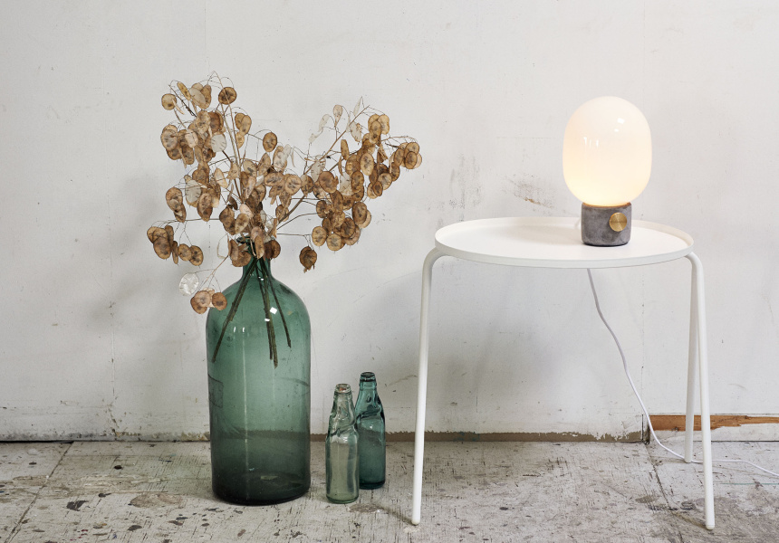 JWDA Concrete Table Lamp, $450