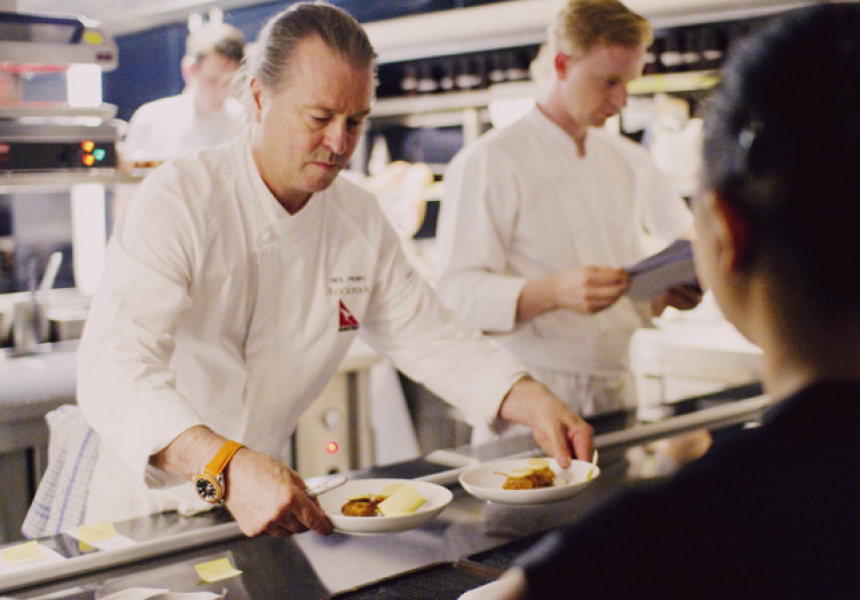 Neil Perry at Rockpool Sydney