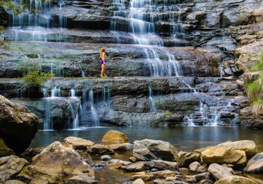 Rocky Creek Walk, Blue Mountains National Park