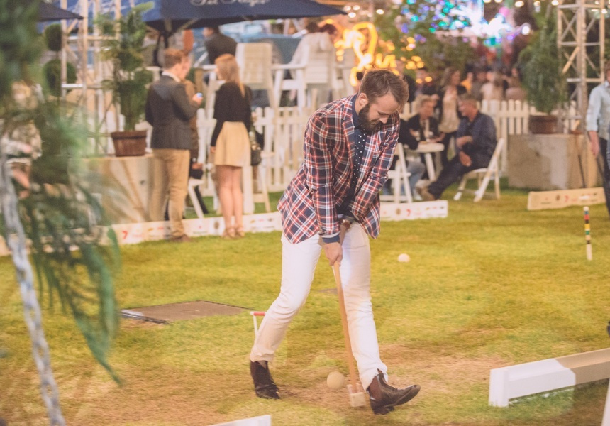 Scenes from Adelaide's Royal Croquet Club, which will be landing in Melbourne next January