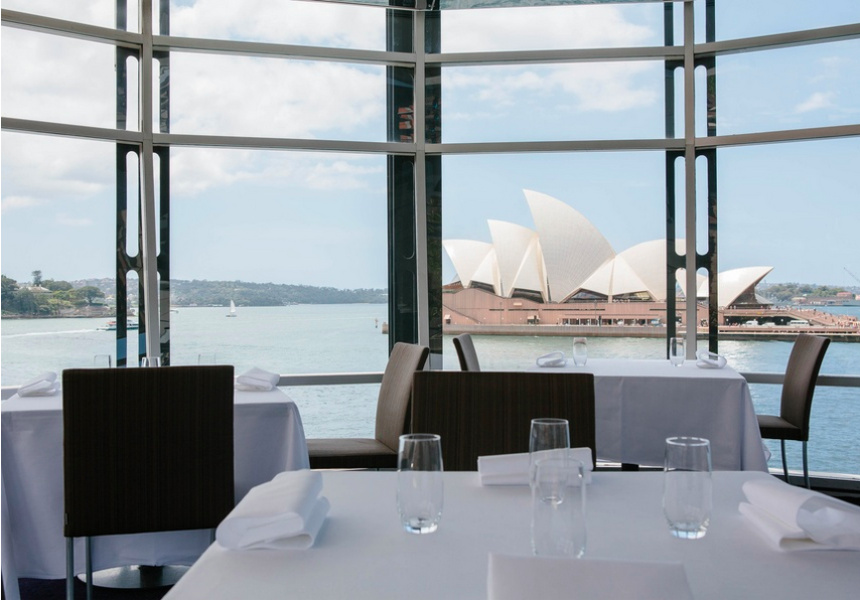 The view from the Quay dining room.