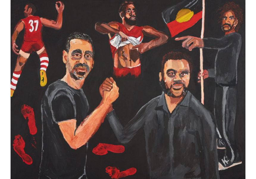Aboriginal artist wins prestigious Australian prize for first time