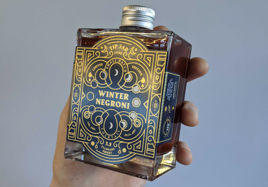 Worksmith's limited-edition Winter Negroni