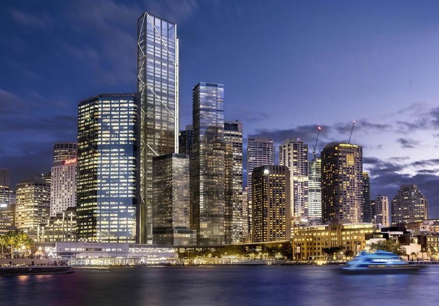 a new giant on the city skyline broadsheet