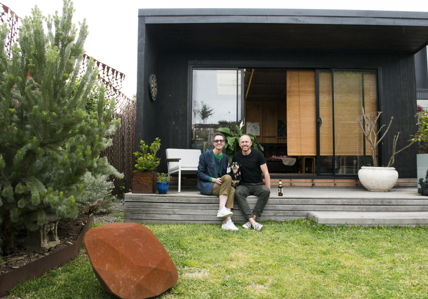 Susan and Gordon Tait at their home Melbourne.