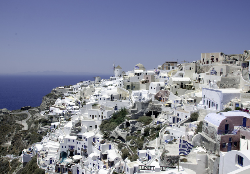 Santorini, photography by Bruce Harlick