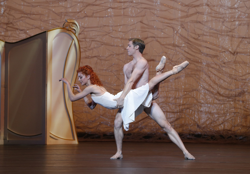 Dimity Azoury and Ty King-Wall in The Silver Rose