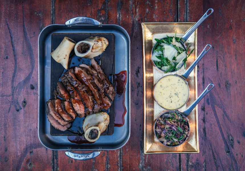 Mahe's Chateaubriand, currently on the menu at The Trustee in Perth.