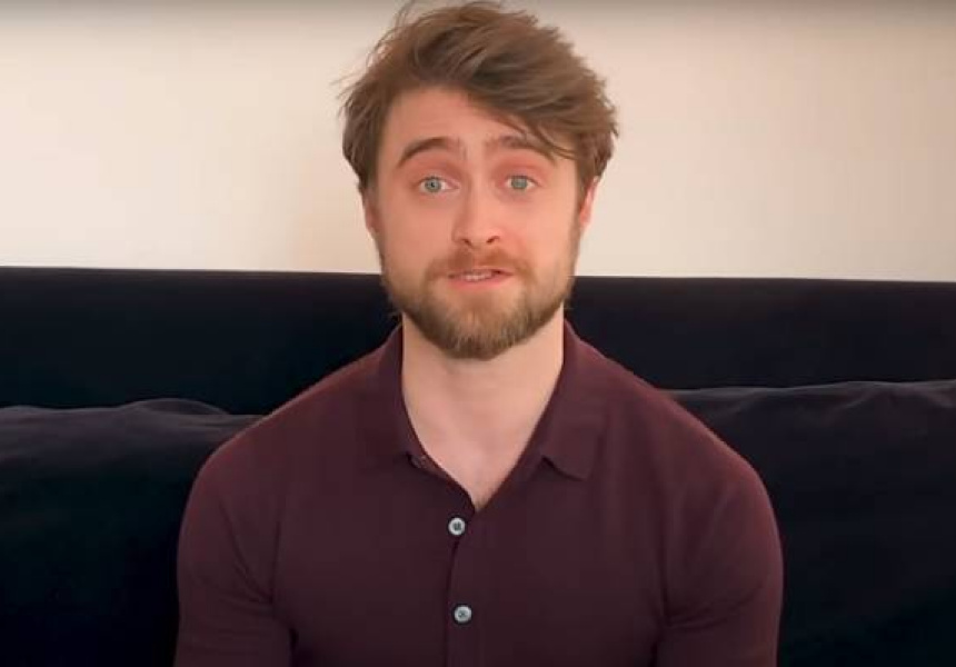 Daniel Radcliffe occupies again the Harry Potter universe
