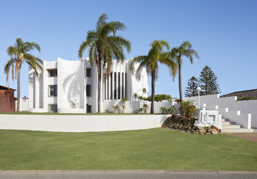 Tomich House, a home designed by influential Perth architect Iwan Iwanoff