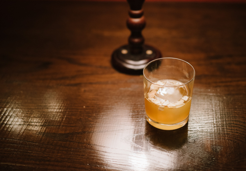 Coconut Rum Old Fashioned