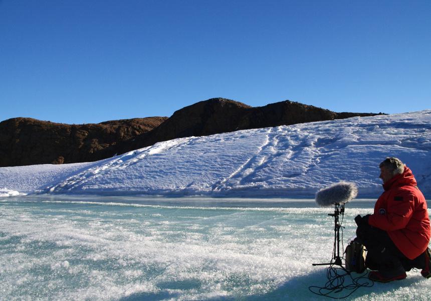 Field work, Antarctica