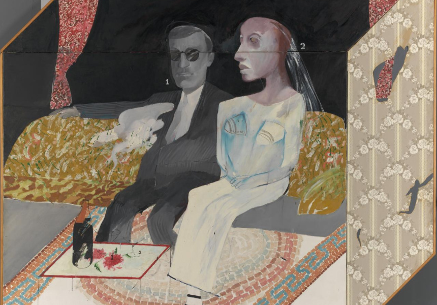 """The second marriage"" (1963) (cropped)"