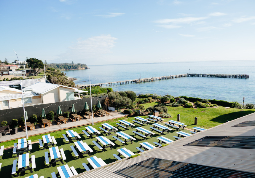 The Botanical pop-up at the Portsea Hotel