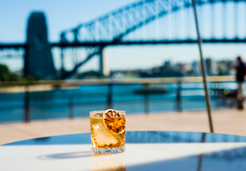 Golden Old Fashioned at Bennelong.