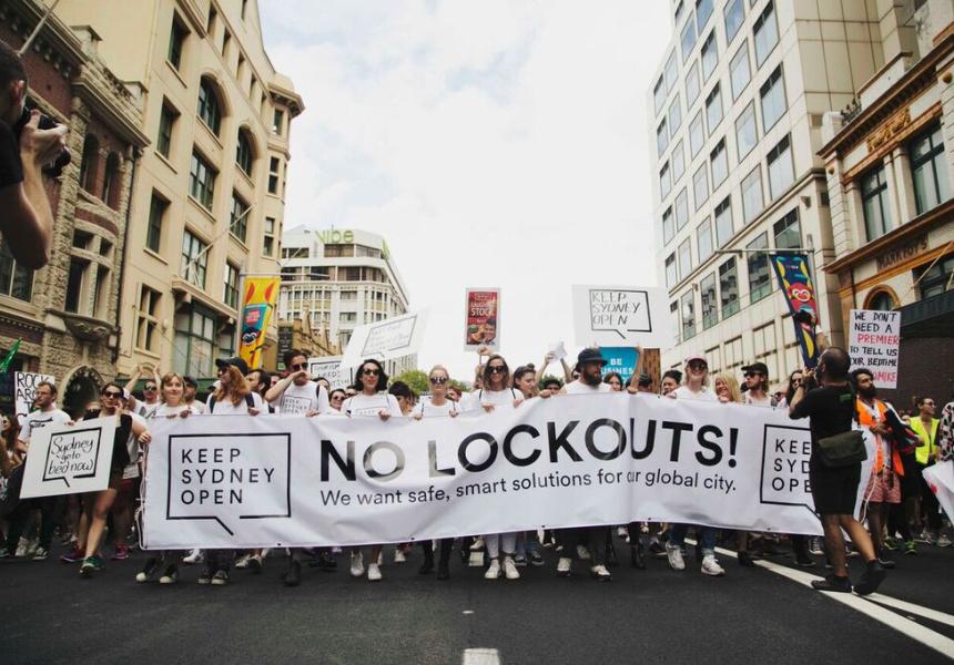 Keep Sydney Open Rally