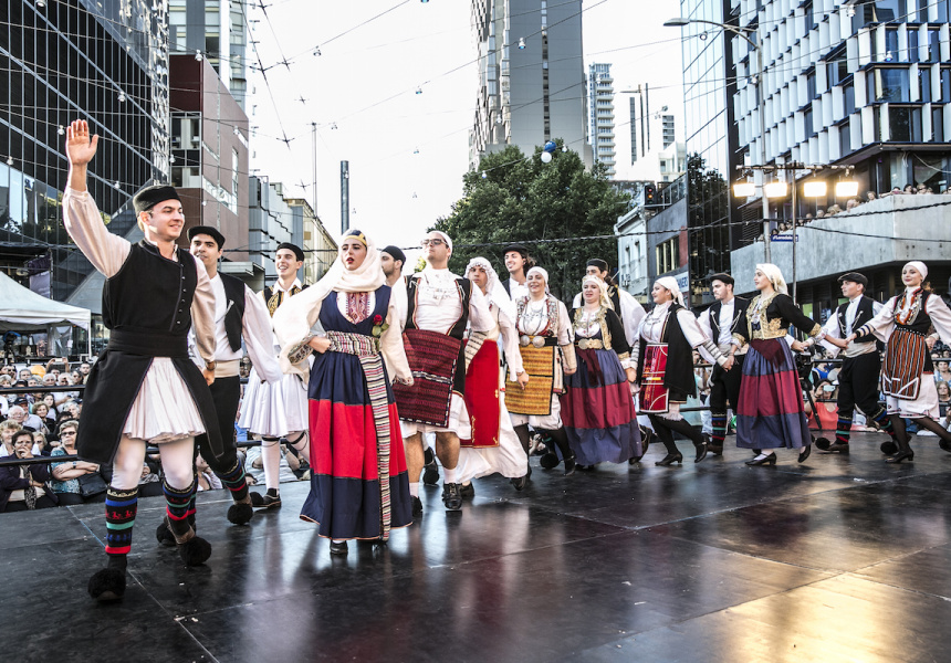 The Lonsdale Street Greek Festival, 2015