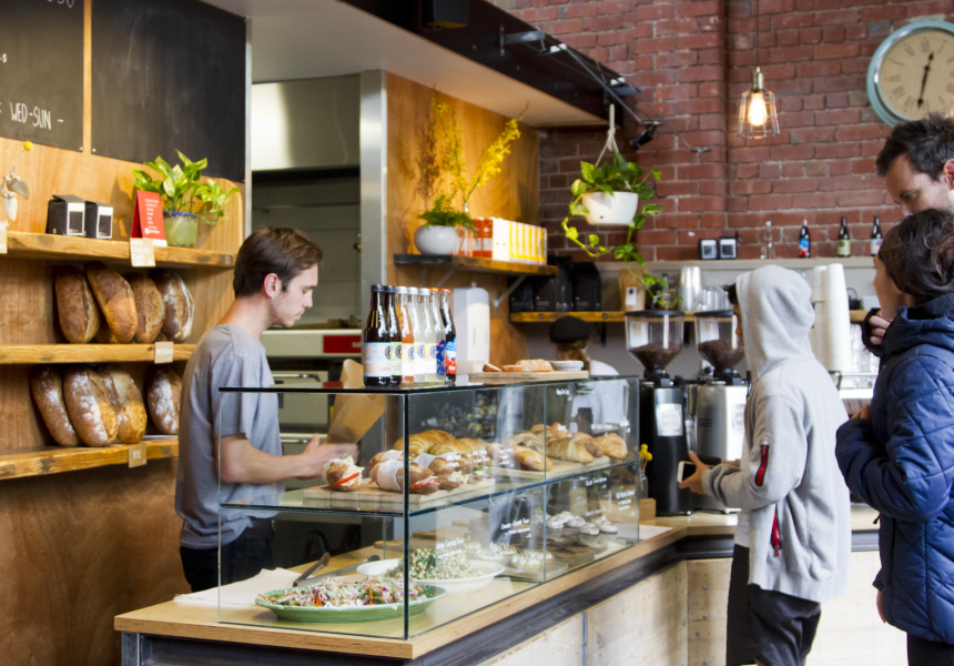 faraday 39 s cage bakery cafe fitzroy broadsheet. Black Bedroom Furniture Sets. Home Design Ideas