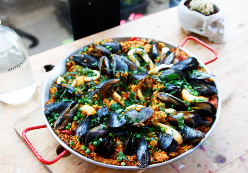 Damien's Seafood Paella