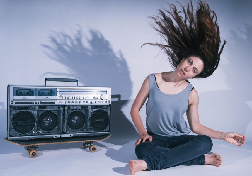 Artist in Residence: Nicola Gunn, Piece for Person and Ghetto Blaster.