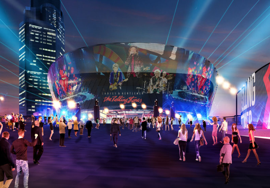 Artist's impression of the Brisbane Live precinct. Image: AEG Ogden