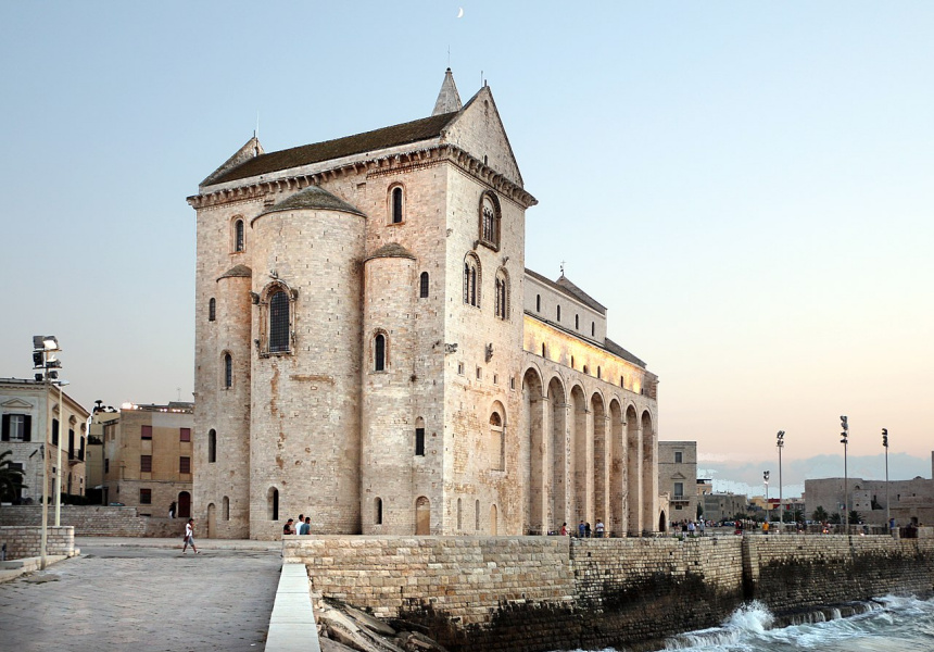 The Trani Cathedral