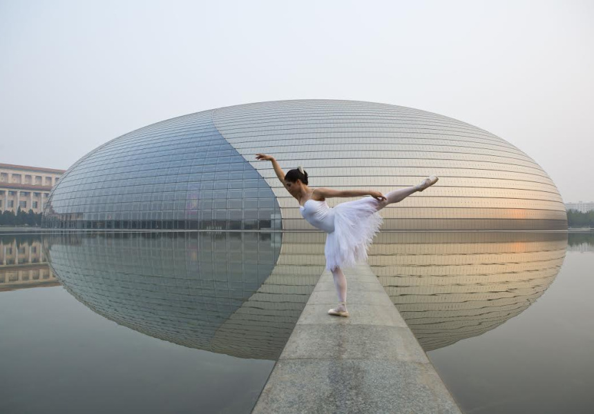 The Australian Ballet Production Swan Lake, Ella Havelka at the National Centre for Performing Arts, Beijing