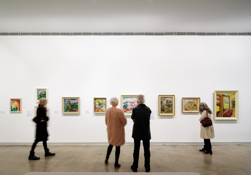 O'Keeffe, Preston, Cossington Smith: Making Modernism Installation view   Heide Museum of Modern Art