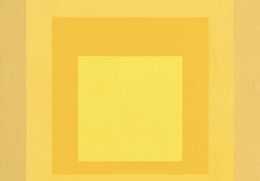Homage to the square: Autumn echo, 1966   Josef Albers