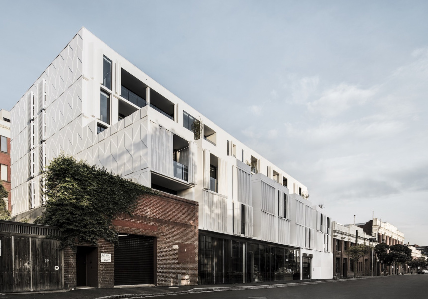 A Gurner development on Cambridge Street in Collingwood