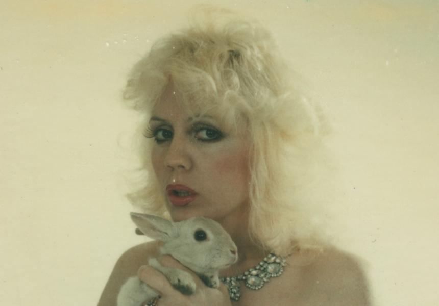Polaroid, Annie Sprinkle (cropped)