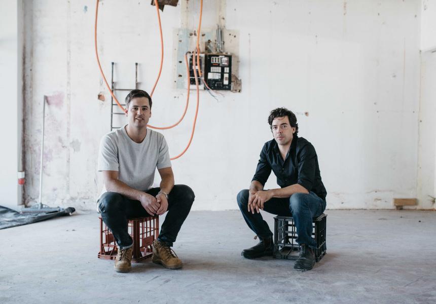 Elliot Moore and Ben Braham, Besk.