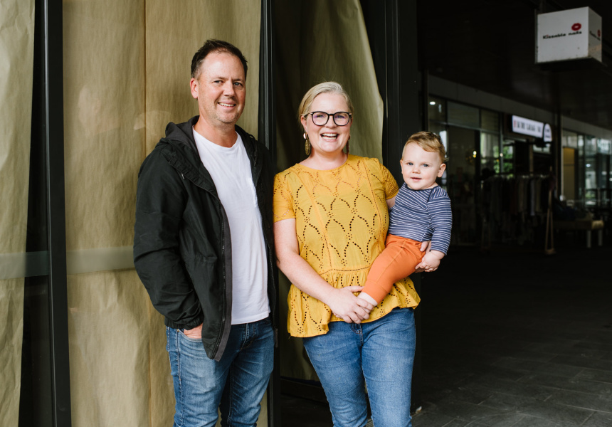 Botanica's Brett and Alison (and Oliver) Hutley