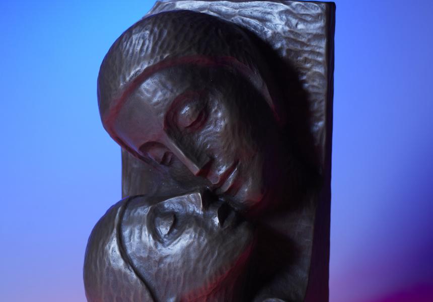 Young Love Sculpture, Leopoldine Mimovich, 1995