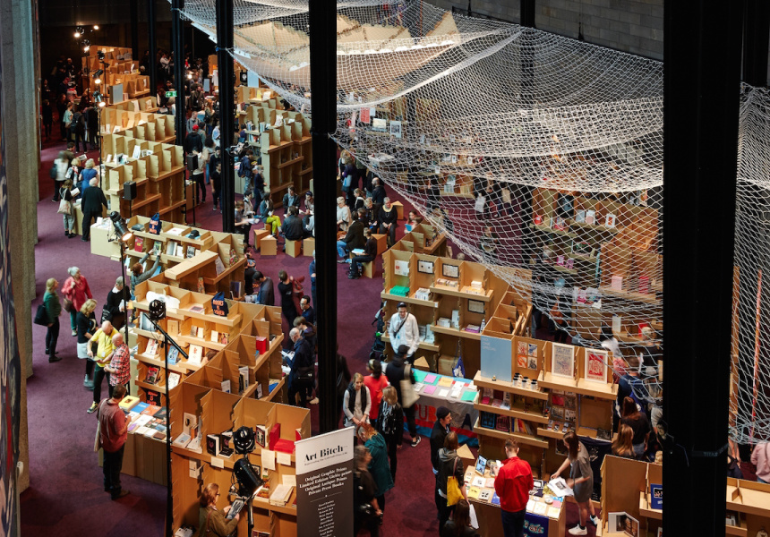 The 2015 Melbourne Art Book Fair at NGV International