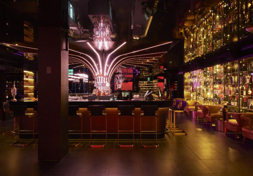 Roku Gin Sakura Terrace at Bar 12