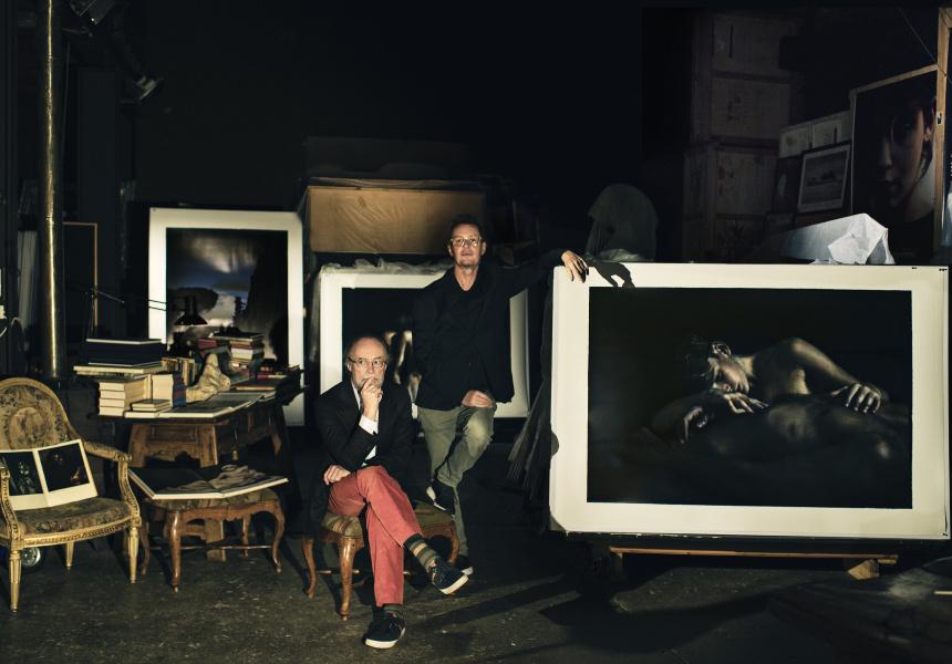 Bill Henson and Richard Tongetti