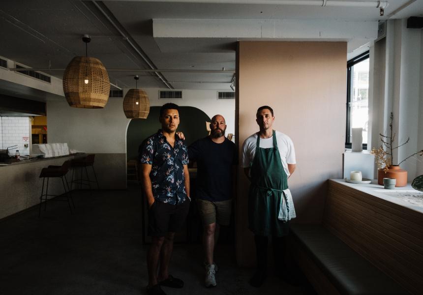 Baja's Nicholas Castillo, Dan Quinn and Reece White