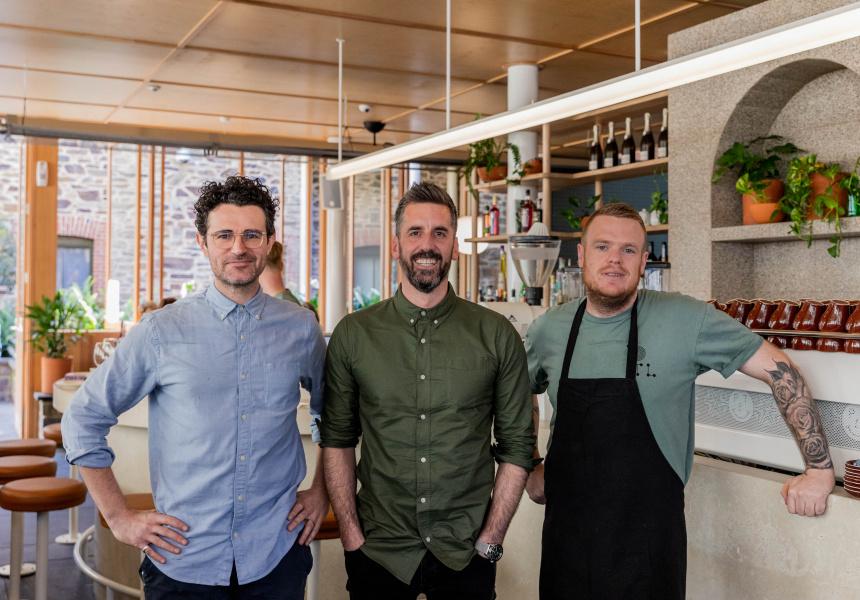 Luke Turton, Josh Baker and Stewart Wesson