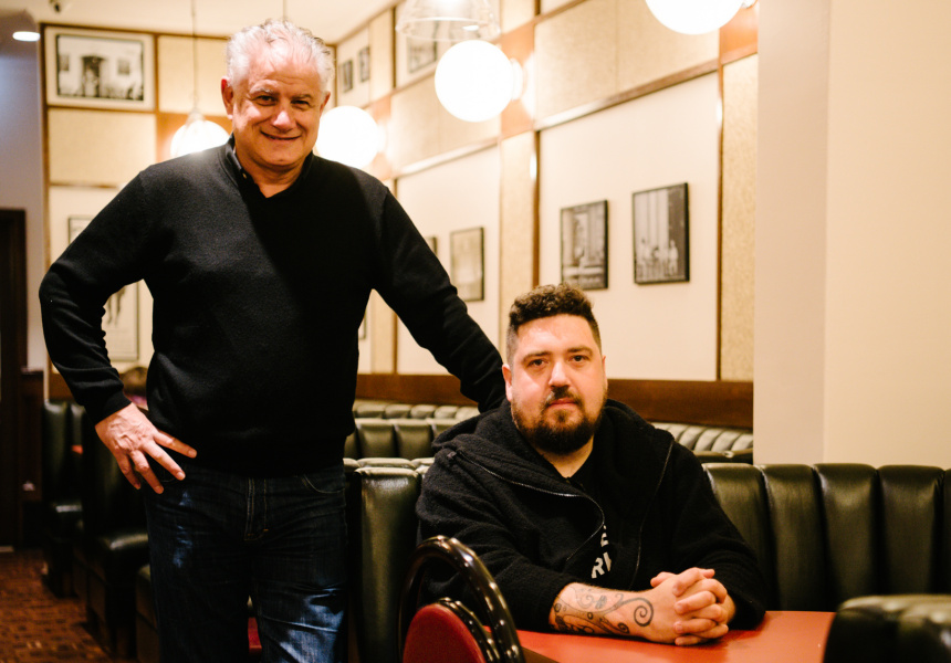 Enzo Fantasia and Duncan Welgemoed