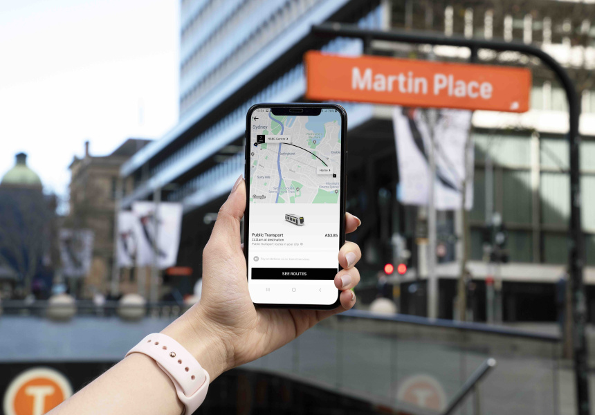 Uber Has Launched a New Sydney Public Transport Feature