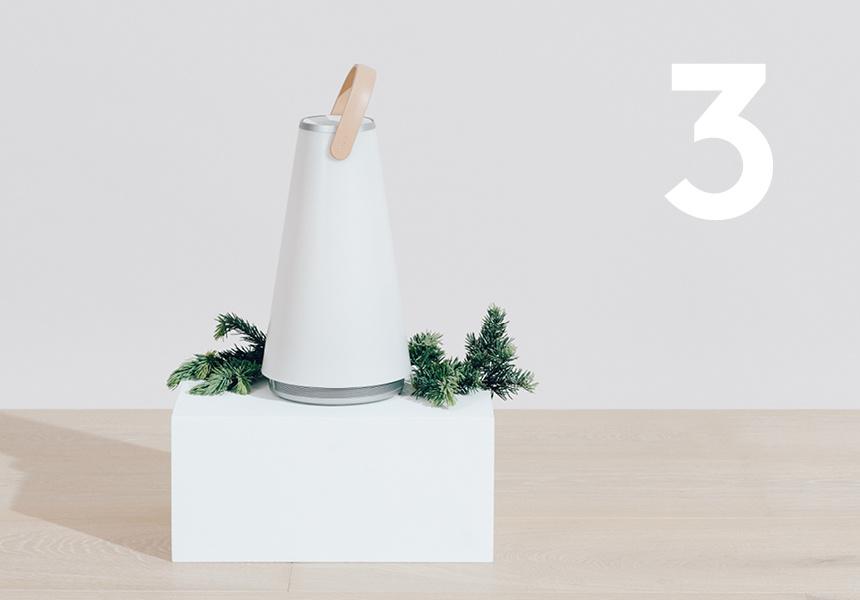 Portable Lantern and Speaker from Koda