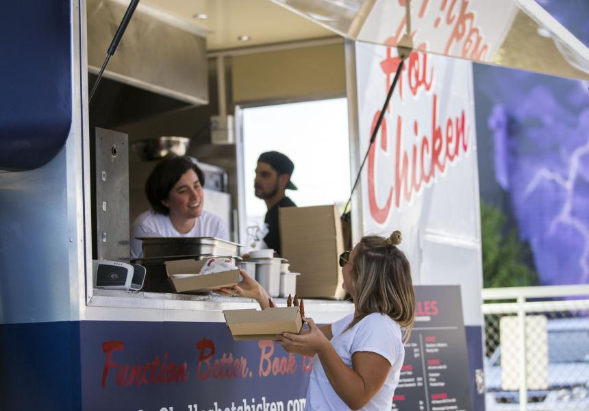 Belles Hot Chicken Gets A Food Truck Broadsheet