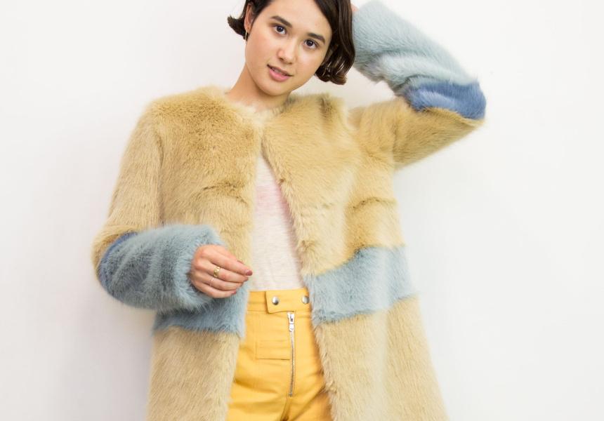 Shrimps Garfunkel Faux Fur Coat ($1010)